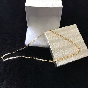 Cubin chain ( unisex )gold plated